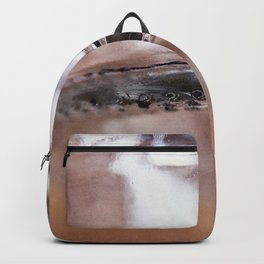 Abstract Glass Reflections Backpack