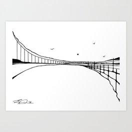 Landscape 110413 Art Print