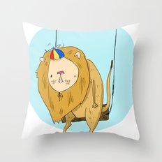 King of the Nerds Throw Pillow