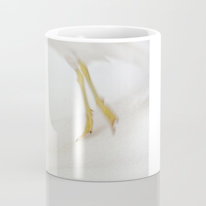 Gull Skiing Coffee Mug