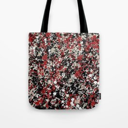 paint drop design - abstract spray paint drops 6 Tote Bag
