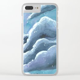 chunk of sky #2 Clear iPhone Case