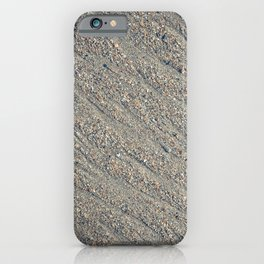 Wet Sand Scours iPhone Case