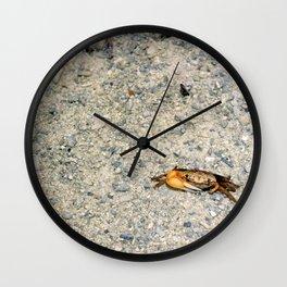Crab No.4 Wall Clock