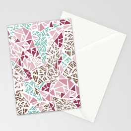 Happy lightful color Mosaic Stationery Cards