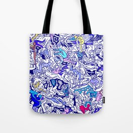 Kamasutra LOVE - Indigo Blue Tote Bag