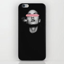 Look at me, Woman power art iPhone Skin