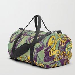Epiphycadia III: Teal Duffle Bag