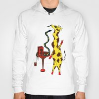 dance Hoodies featuring Dance by Anna Shell
