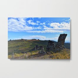 Granite Tors in the Arctic Metal Print