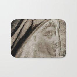Lady Angel Celestial Woman Spiritual Art A145 Bath Mat