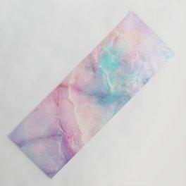 Iridescent marble Yoga Mat