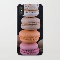 macaroons iPhone & iPod Cases featuring Macaroons  by Michael Moriarty Photography