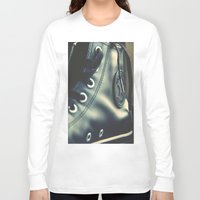 converse Long Sleeve T-shirts featuring Converse style by Donald Plozha