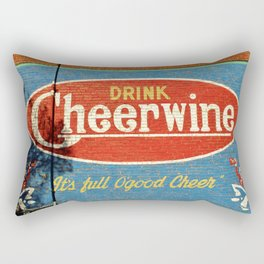 Cheerwine Sign 2 Rectangular Pillow