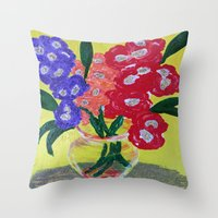 oakland Throw Pillows featuring Oakland Glad by Oakland.Style
