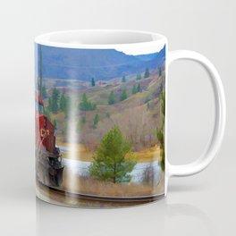 The Columbia Line Train Run Coffee Mug