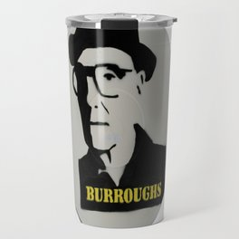 William S. Burroughs Record Painting Travel Mug
