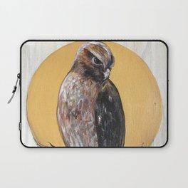 Hawk Vision // Bird Raptor Eagle Feather Wing Sun Spirit Animal Laptop Sleeve