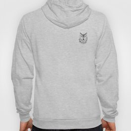 Wolf Face - Turquoise Hoody