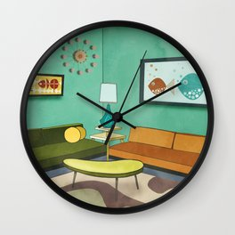 The Room 1962 Wall Clock