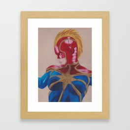 Carol Danvers 2 Framed Art Print