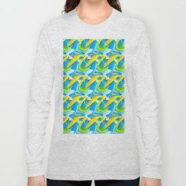 3D Pattern_02 Long Sleeve T-shirt