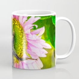 Bumblebee on a Daisy Coffee Mug