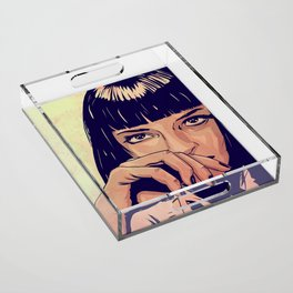 Mia Wallace Acrylic Tray