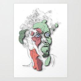 Michelagnolo Art Print