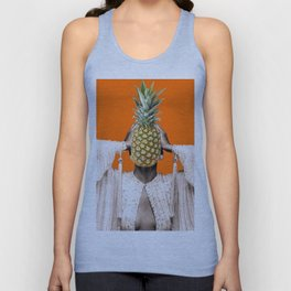 Be like a pineapple Unisex Tank Top