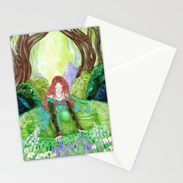 Ostara's Awakening Stationery Cards