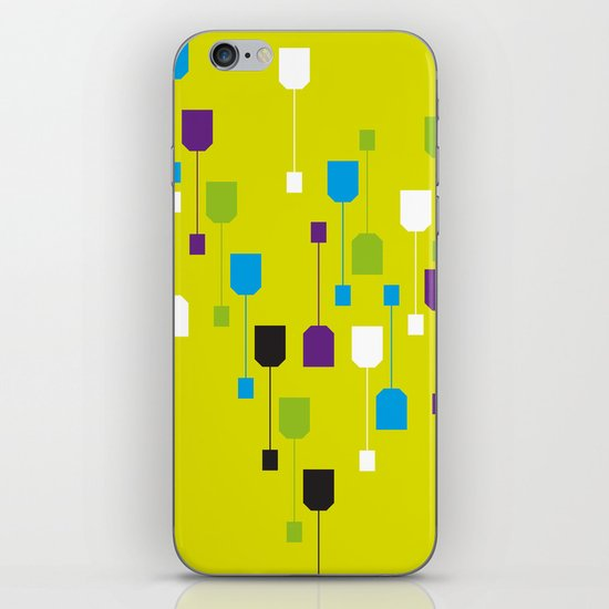 Tea World iPhone & iPod Skin