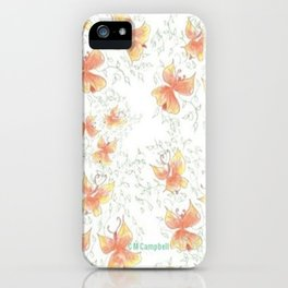 """ Butterfly Angels "" iPhone Case"