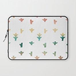 Colorful Boho tree pattern Laptop Sleeve