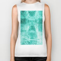 tie dye Biker Tanks featuring Tie Dye  by Jenna Davis Designs