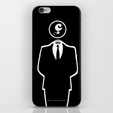 Anonymous / Black / Les Hameçons Cibles iPhone & iPod Skin