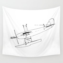 Glidepath 1931 Wall Tapestry