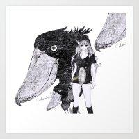 BIRD ZOO 2 Art Print