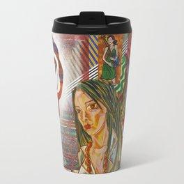 Folk Women Travel Mug
