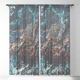 A Sudden Freeze Sheer Curtain