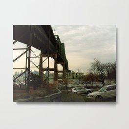 Tobin bridge  Metal Print