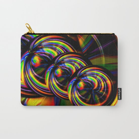 Creations in the color spectrum of the rainbow 3 Carry-All Pouch