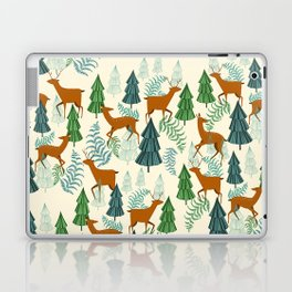 Deers in the forest Laptop & iPad Skin