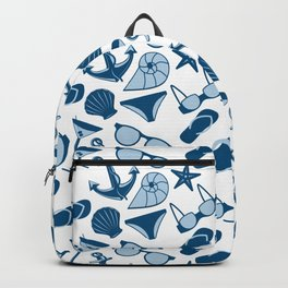 Beach clothes Backpack