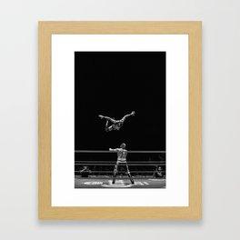 El Vuelo Framed Art Print