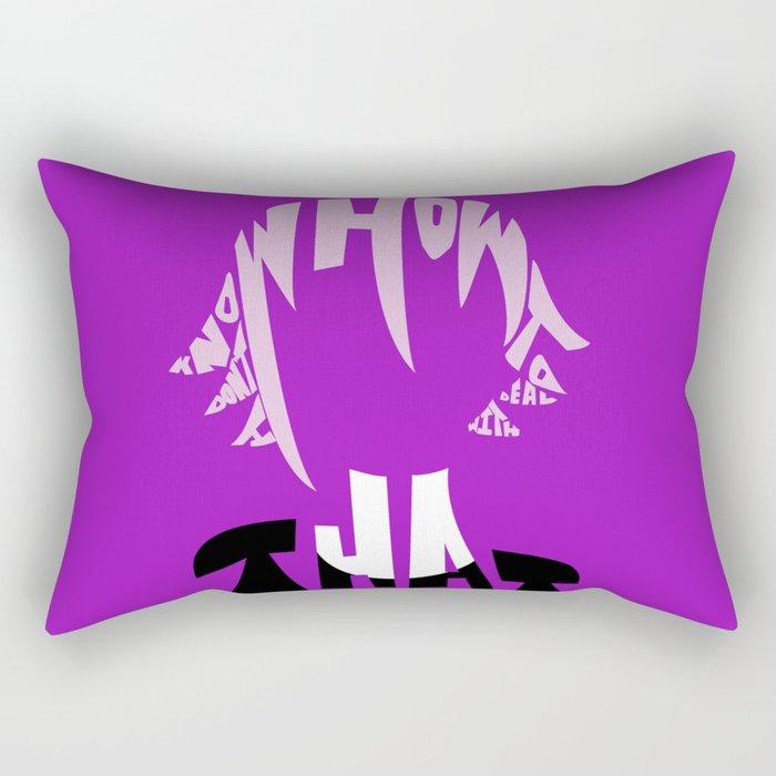 crona soul eater Rectangular Pillow