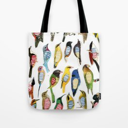Birds and their insides Tote Bag