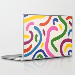 Colorful mess Laptop & iPad Skin