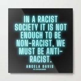 9      |  Angela Davis | Angela Davis Quotes |200814 Metal Print